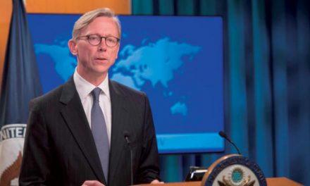 برایان هوک به «الشرق الاوسط»: به دنبال یک معاهده الزام آور در مورد ایران هستیم