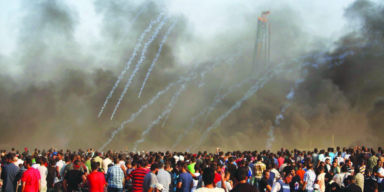 یورش اسرائیل به غزه ۶ کشته و صدها زخمی برجای گذاشت