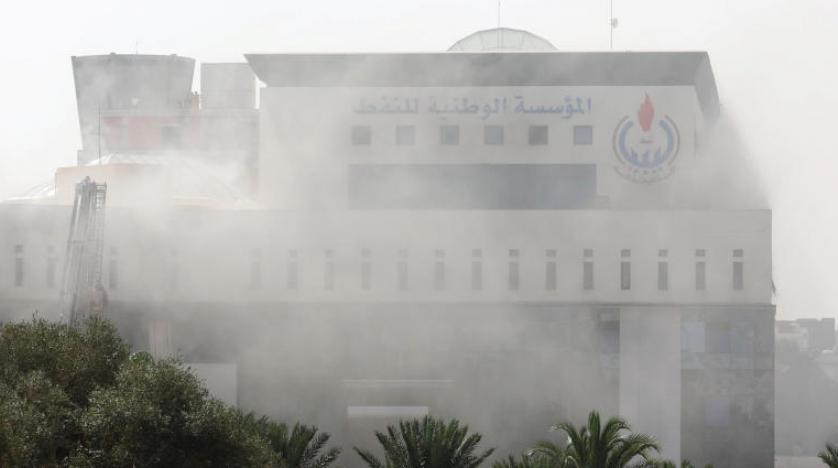 حمله افراد مسلح به شرکت نفت لیبی در طرابلس