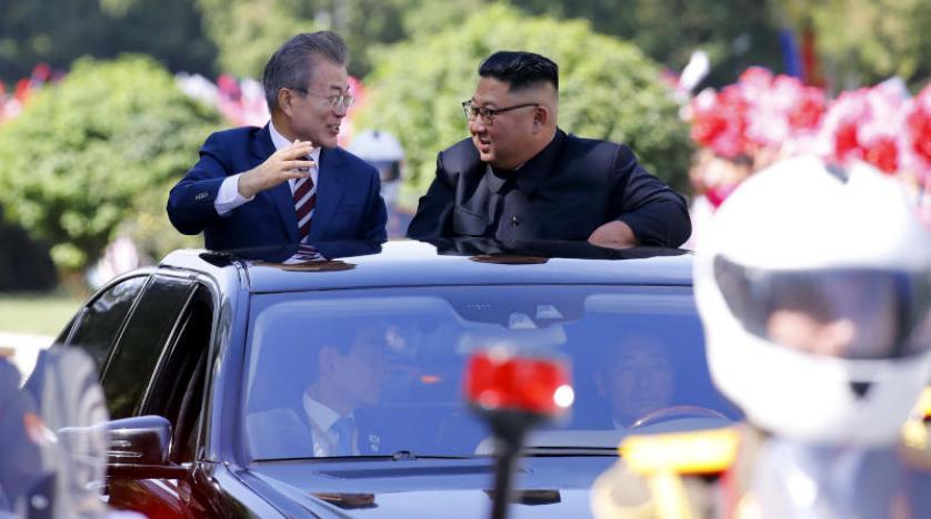 سومین نشست سران دو کره در شرایط مهآلود