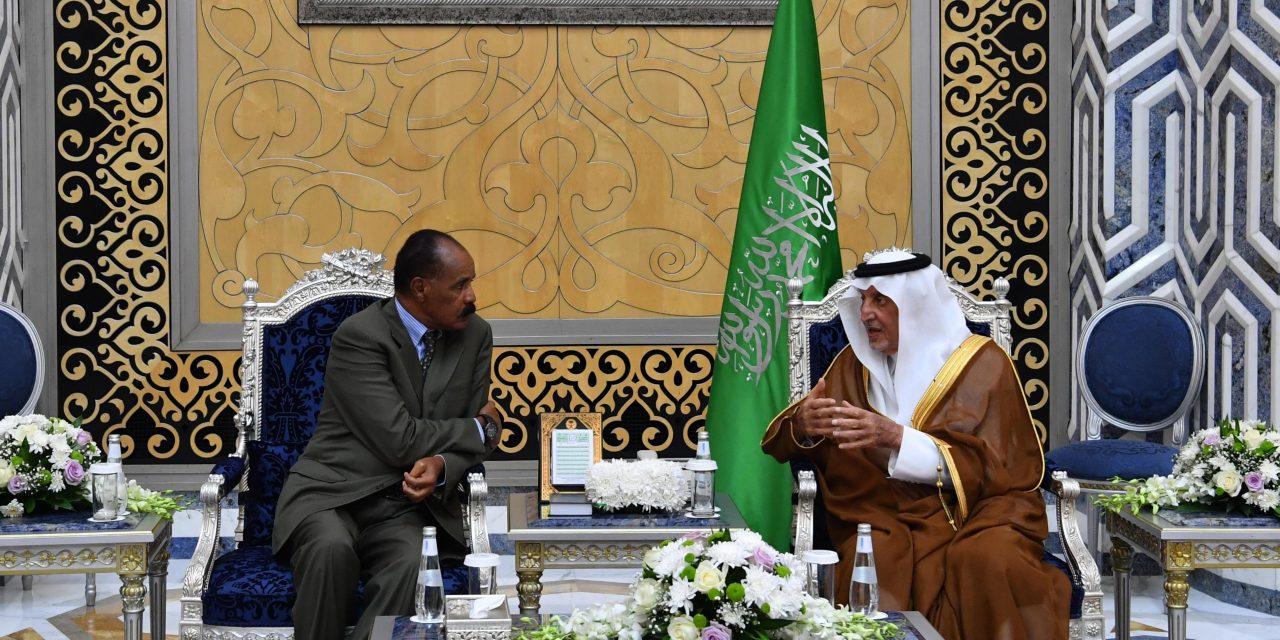 پس از ۲۰ سال خصومت؛اتیوپی و اریتره در جده توافق صلح امضا میکنند