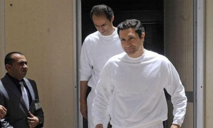 پسران مبارک آزاد شدند