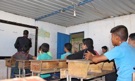 ترس و هراس دانش آموزان ادلب از حمله های حکومت و روسیه