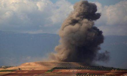 حمله هوایی به ادلب همزمان با اجلاس تهران