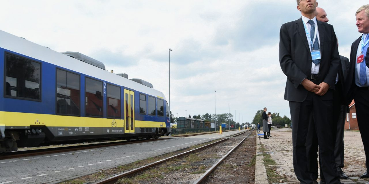 بهرهبردارى از اولین قطار با سوخت هیدروژنی در آلمان