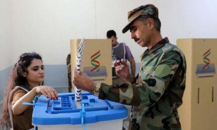 آغاز رای گیری ویژه نظامیان در انتخابات پارلمان کردستان عراق