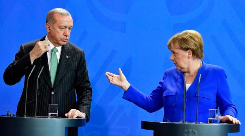 دیدار مرکل و اردوغان؛ از توافق بر سر سوریه تا پایداری اختلافات