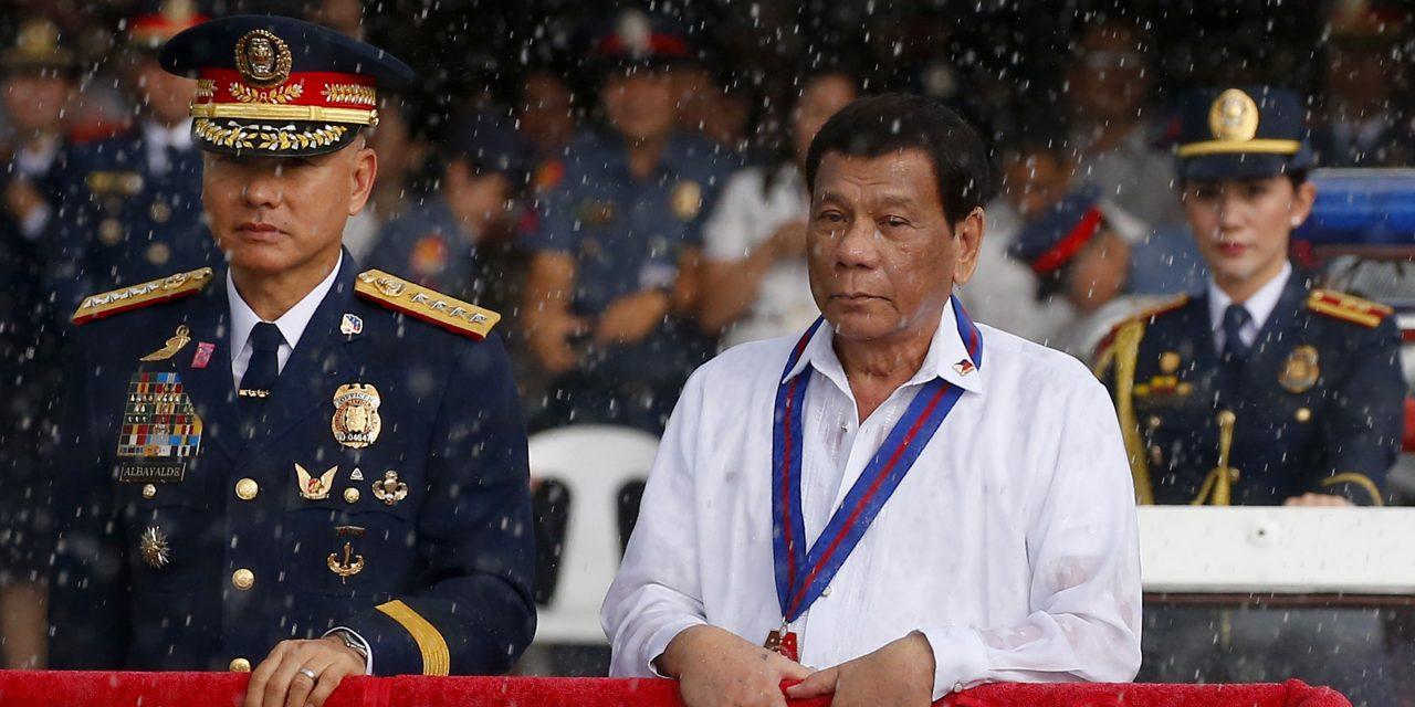 نتیجه «خیلی خوب» رییس جمهور فیلیپین در یک نظر سنجی