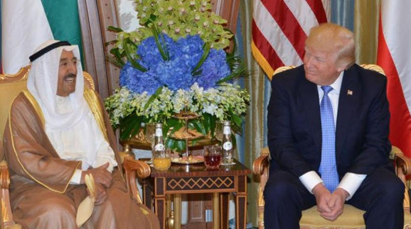 ترامپ و امیر کویت در کاخ سفید دیدار میکنند