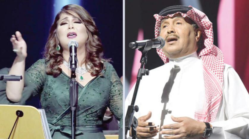اجرای زنده ۵ خواننده به مناسبت هشتاد و هشتمین سالگرد روز ملی سعودی