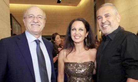 الی صعب «هفته هنری بیروت» را افتتاح کرد
