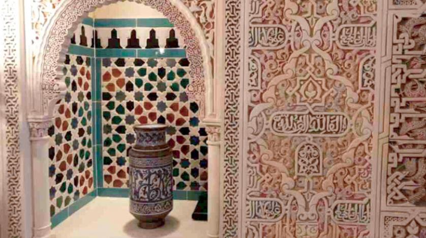 رویای تاجر پارچه… کاخ الحمرا در یک خانه اسپانیایی