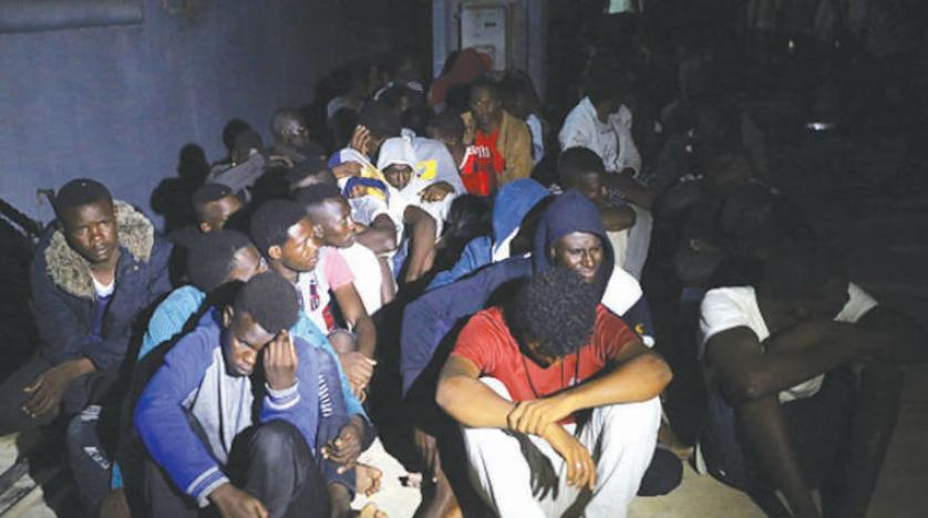 مهاجران شرایط سختی را در کمپهای لیبی پشت سرمیگذارند