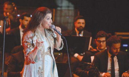 ماجده الرومی بزرگترین شگفتی جشنواره موسیقی عربی در مصر