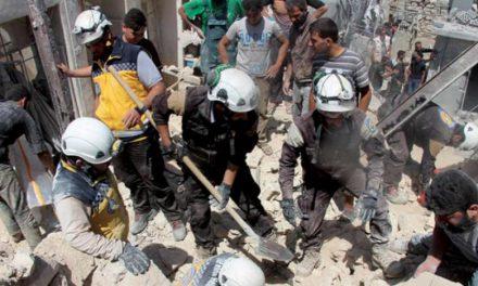 مسکو خواستار خروج «کلاه سفیدها» در سوریه شد