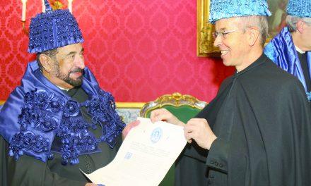 پرتغال به حاکم شارجه دکترای افتخاری از دانشگاه «کویمبرا» اعطا کرد