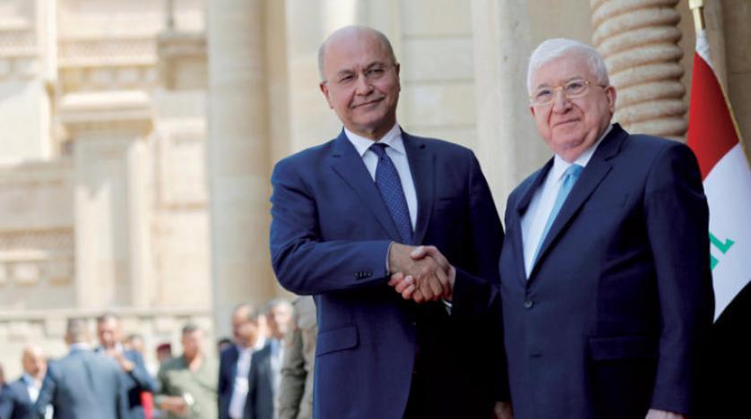 مراسم تودیع و معارفه دولت جدید عراق در سایه اختلافات