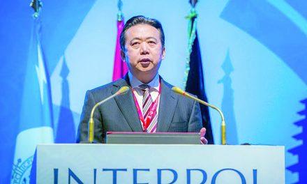 چین رئیس اینترپل را به اتهام «رشوه خواری» بازداشت کرد