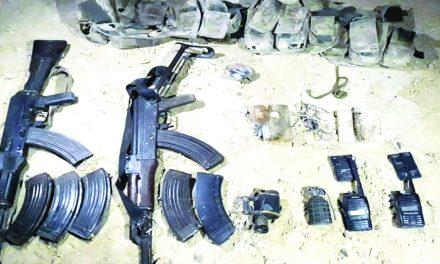 ارتش مصر ۵۲ «تروریست» را در سینا از پا درآورد