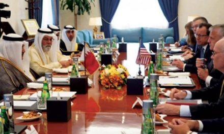 بحرین و آمریکا نفوذ بدخواهانه ایران در منطقه را بررسی کردند