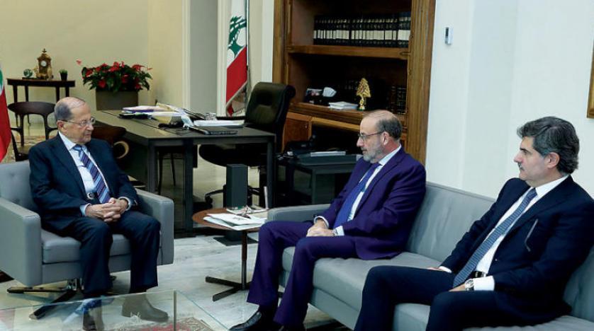 عون به ماکرون: لبنان و حزبالله پایبند به حفظ آرامش جنوب هستند