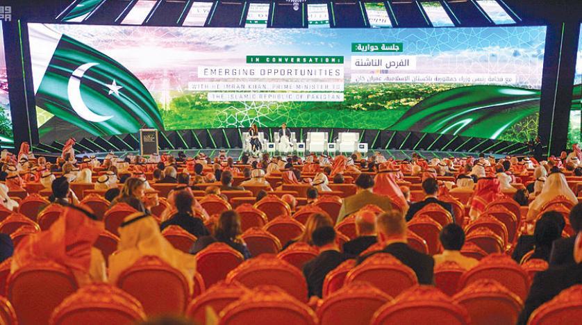 افتتاحیه کنفرانس سرمایهگذاری سعودی، محرکی برای سیاست و اقتصاد