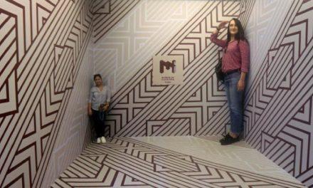 موزه معما در دبی بازدیدکنندگان را شگفتزده کرد