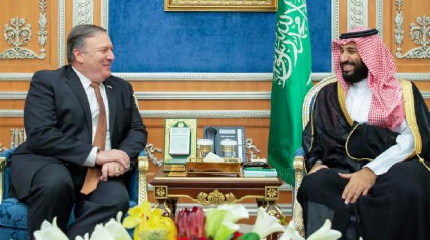 پادشاه سعودی و پمپئو تحولات منطقه را بررسی کردند