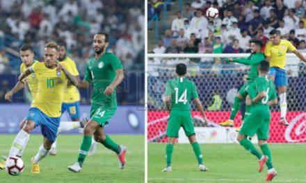 روزنامههای جهان عملکرد سعودی در برابر برزیل را تحسین کردند