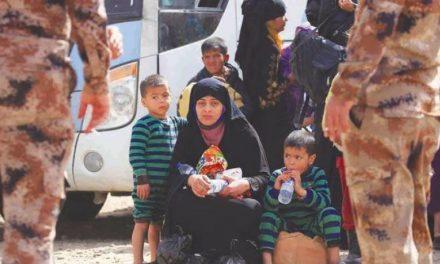 عراق بیش از یک میلیون آواره جنگی دارد