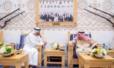 خادم حرمین شریفین و ولیعهد ابوظبی روابط برادرانه سعودی و امارات را بررسی کردند