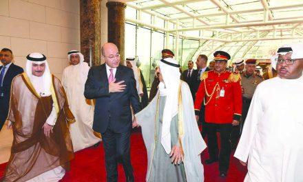 برهم صالح: نمیخواهیم عراق بار تحریم علیه ایران را به دوش بکشد