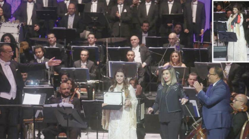 ماجده الرومی پردههای جشنواره موسیقی عربی در قاهره را پایین کشید