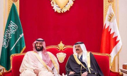 ولیعهد سعودی تحولات منطقه و جهان را با پادشاه بحرین بررسی کرد