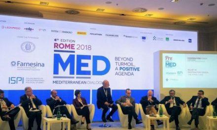 امنیت، مهاجرت، تروریسم و گفتوگوی ادیان در همایش گفتوگوی مدیترانهای در رم