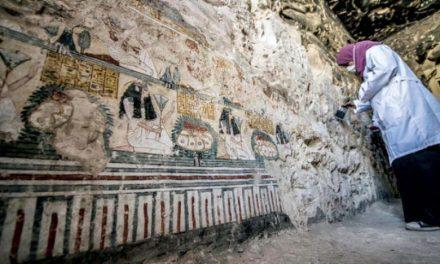 شناسایی دو تابوت متعلق به مسئول امور مومیایی فرعون ها و همسرش