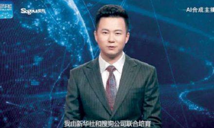 ورود ربات سخنگو به برنامههای خبری تلویزیون چین