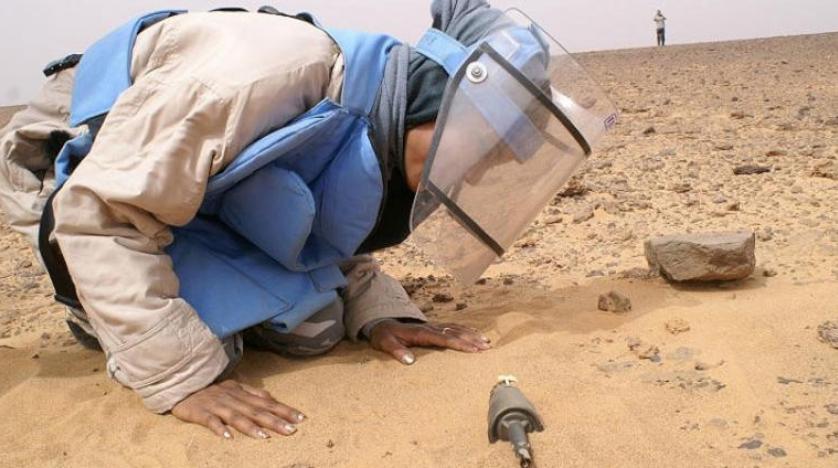 مینهای عراقی مناطق  کمپینگ کویتیها را تهدید میکند