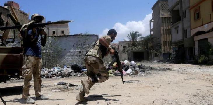 رهبر گروهک «لواء الصمود»: مبارزه تنها راه حل مشکلات لیبی است