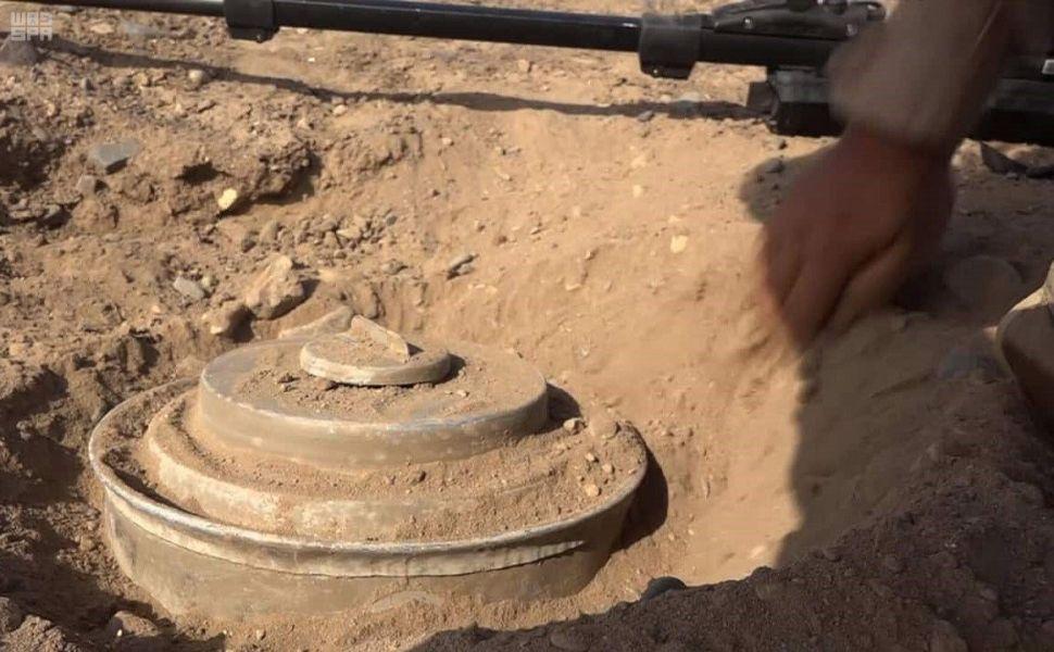 پروژه سعودی ۲۶ هزار مین حوثیها را خنثی کرد