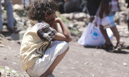 گرسنگی مرگبار در کمین هزار کودک یمنی در المسیمیر