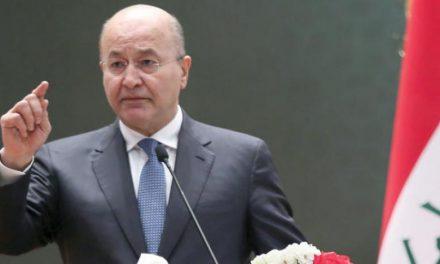 برهم صالح از تابعیت بریتانیایی خود انصراف داد
