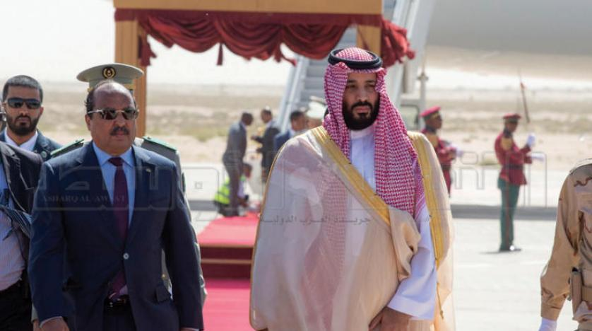 ولیعهد سعودی در ادامه سفرهای منطقهای به موریتانی سفر کرد