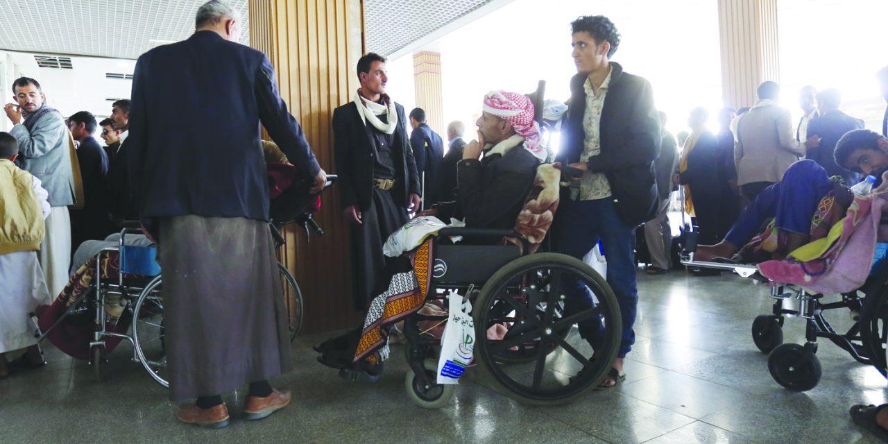 اطمینان یمن از خالی بودن هواپیمای حامل مجروحان حوثی از عناصر ایرانی