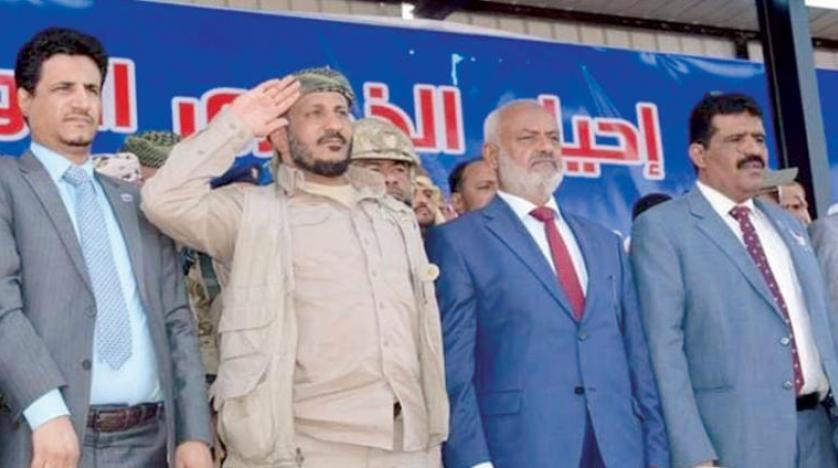 طارق صالح هزاران تن از طرفداران حزب «کنگره» یمن را در سالگرد کشته شدن عمویش گردهم آورد