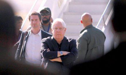 هیئت حوثیها به همراه گریفیتس با هواپیمایی کویتی عازم سوئد شد