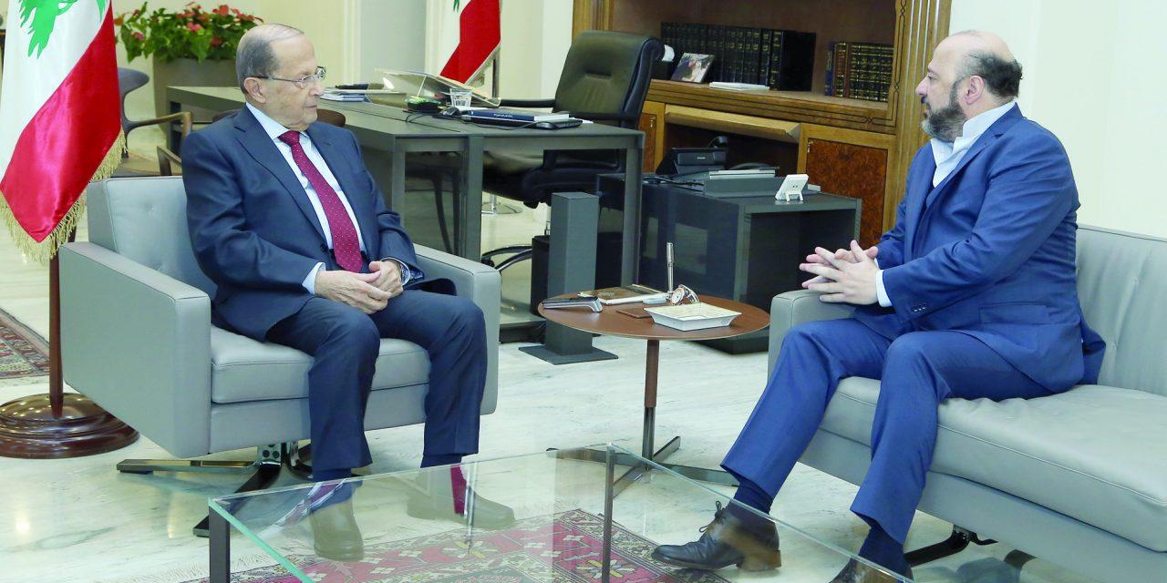 عون در جستجوی برون رفتی از بحران تشکیل دولت لبنان