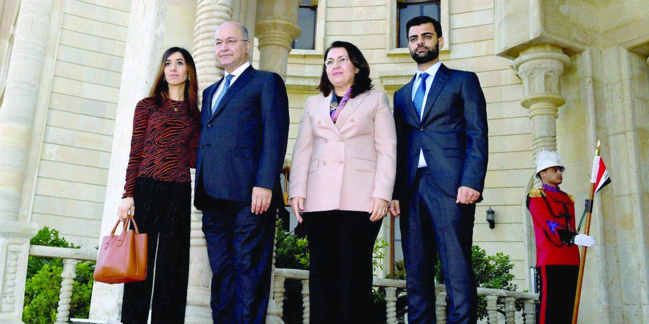 نادیا مراد جایزه نوبل را به هموطنان عراقیاش اهدا کرد