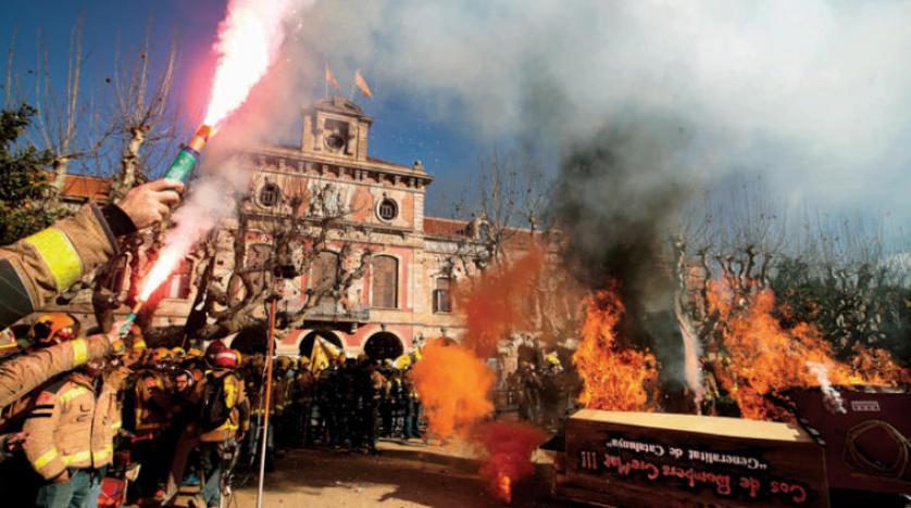بارسلونای جداییطلب میزبان آخرین جلسه هیأت دولت اسپانیا