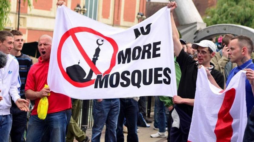 ثبت ۶۰۸ فقره «اسلامهراسی» در انگلیس در ۶ ماه